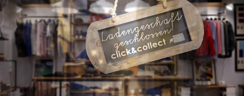lockdown ladengeschäft geschäft click and collect meet shop store